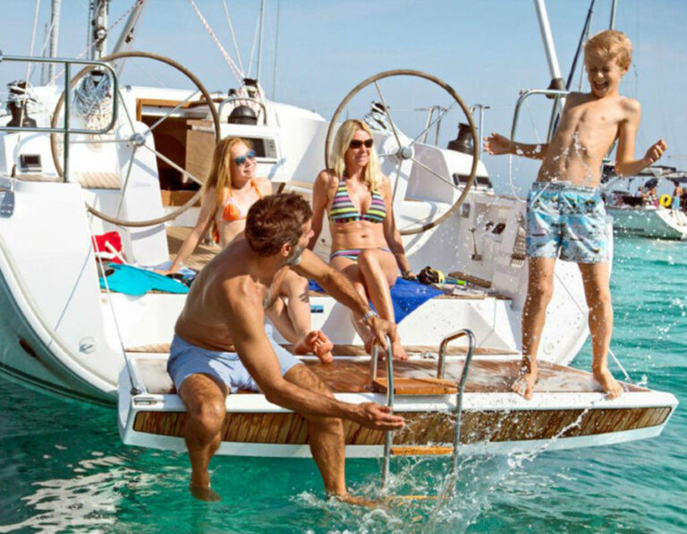 Family sailing holidays Croatia -2-